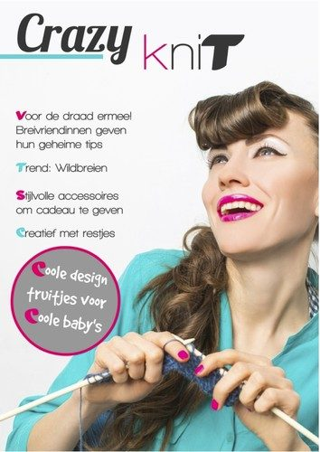 crazy knit cover tijdschrift
