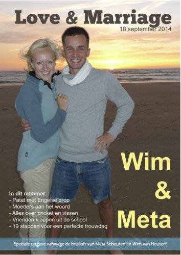cover huwelijkscadeau love and marriage