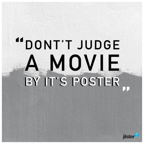 Instagram filmposter quote