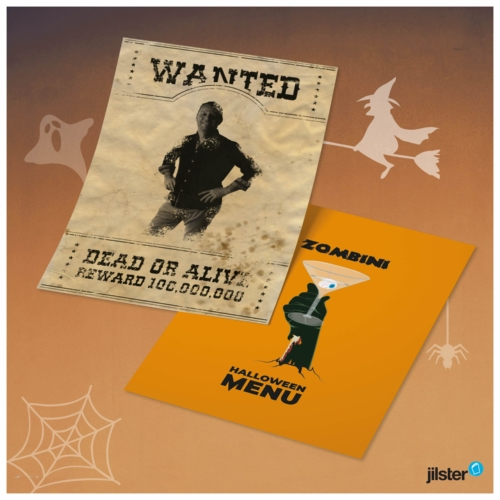 Instagram halloween posters iconen
